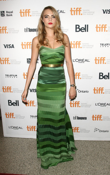 Multicolored Stripes at the 2014 Toronto International Film Festival