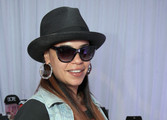 Faith Evans Fedora