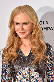 Nicole Kidman showed off a gorgeous wavy 'do at the Tribeca Film Fest premiere of 'The Family Fang.'