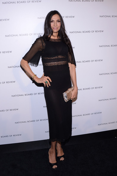 Famke Janssen Little Black Dress
