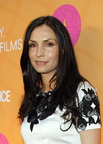 Famke Janssen Layered Cut