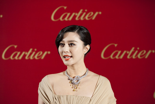 Fan Bingbing Diamond Collar Necklace