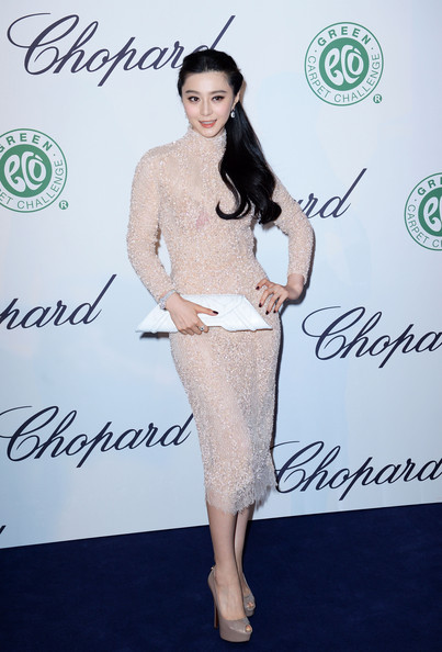 Fan Bingbing Beaded Dress