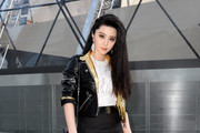 Fan Bingbing Leather Jacket