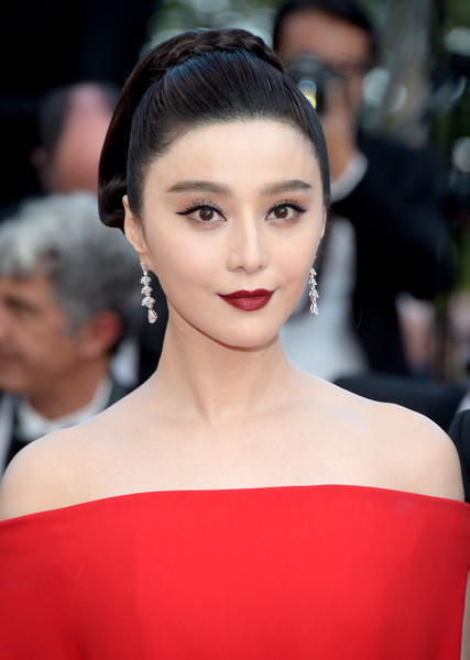 Fan Bingbing Braided Updo [the beguiled,film,photograph,hair,eyebrow,beauty,fashion model,hairstyle,human hair color,chin,lady,lip,forehead,red carpet arrivals,fan bingbing,screening,hair,cannes,cannes film festival,palais des festivals,fan bingbing,cannes,2017 cannes film festival,li bingbing,image,photography,photograph,actor,model,film]