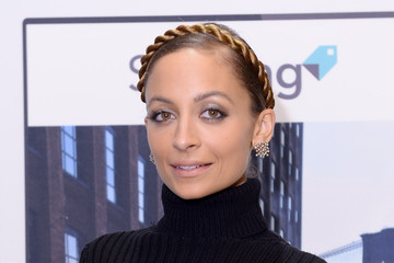 "Here's an Interesting ""Twist"" On the Milkmaid Braid, Courtesy of Nicole Richie"