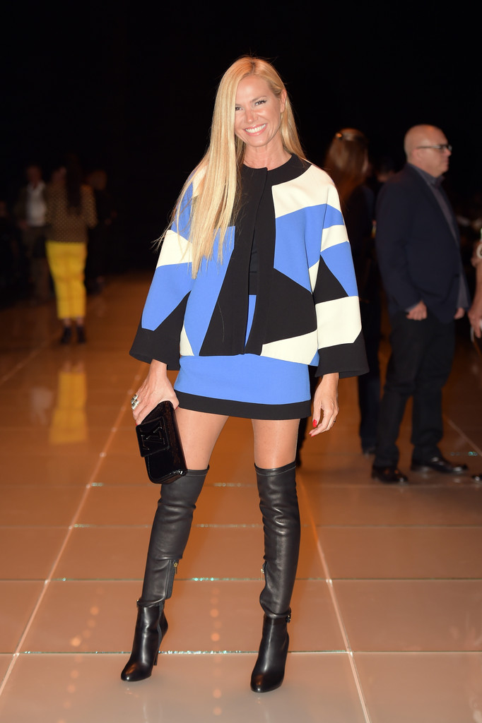 Federica Panicucci At Fausto Puglisi Best Dressed Front