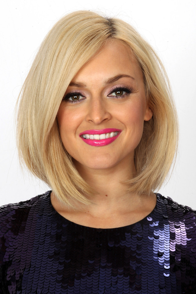 Fearne Cotton Mid Length Bob Shoulder Length Hairstyles