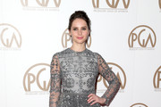 Felicity Jones Beaded Dress
