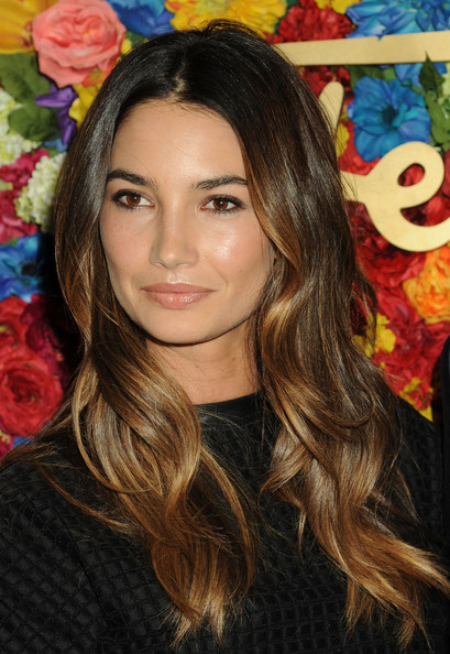 More Pics of Lily Aldridge Long Wavy Cut (1 of 16) - Lily Aldridge Lookbook - StyleBistro