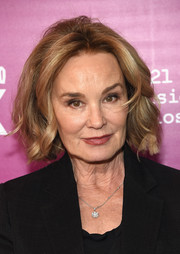 Jessica Lange wore a wavy bob to the 'Feud: Bette and Joan' NYC event.