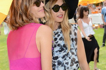 Rachel Zoe Delfina Blaquier The Fifth Annual Veuve Clicquot Polo Classic - Match