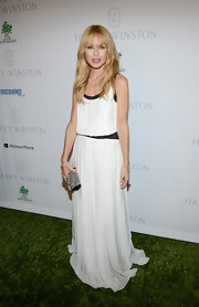 Rachel Zoe wore a demure loose silhouette to the Baby2Baby Gala in Culver City.