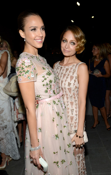More Pics of Nicole Richie Beaded Dress (1 of 30) - Nicole Richie Lookbook - StyleBistro