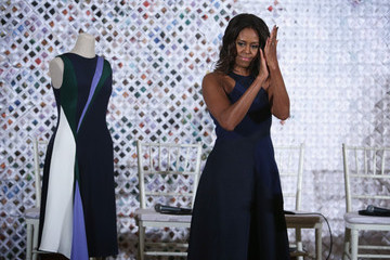 Michelle Obama Hosted a White House Fashion Workshop, Gwyneth is Launching Goop Apparel and More
