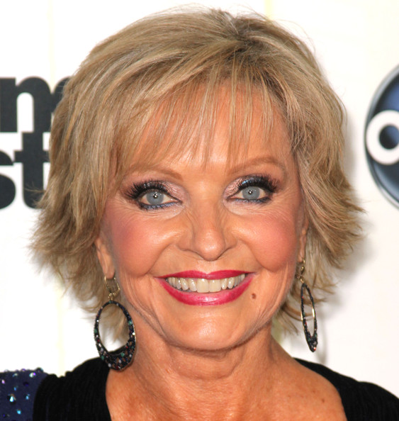 Florence Henderson Layered Razor Cut [dancing with the stars,season,hair,face,hairstyle,eyebrow,blond,chin,lip,forehead,head,cheek,arrivals,florence henderson,dancer,california,los angeles,cbs television city,premiere,premiere]