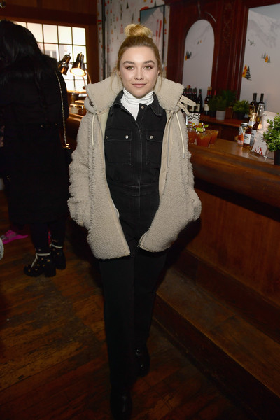 Florence Pugh Fleece Jacket