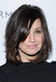 A subtle pink lip color softened up Gina Gershon's look during the Forevermark dinner honoring Michelle Williams.