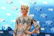 Singer Carrie Underwood arrives at Fox's