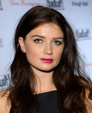Eve Hewson wore her hair down in tousled waves when she attended the Fox Searchlight TIFF party.