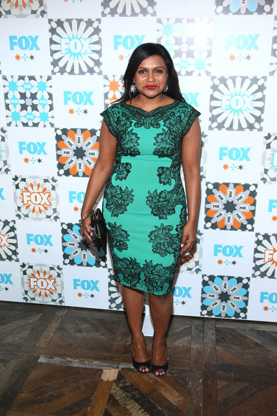 More Pics of Mindy Kaling Peep Toe Pumps (1 of 11) - Mindy Kaling Lookbook - StyleBistro [mindy kaling,all-star party - arrivals,fox summer tca all-star,clothing,dress,cocktail dress,turquoise,fashion model,fashion,teal,footwear,fashion design,leg,house,california,west hollywood,soho,fox summer tca,party]
