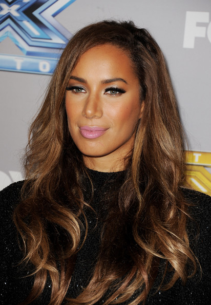 More Pics of Leona Lewis Long Wavy Cut (1 of 5) - Long Wavy Cut Lookbook - StyleBistro