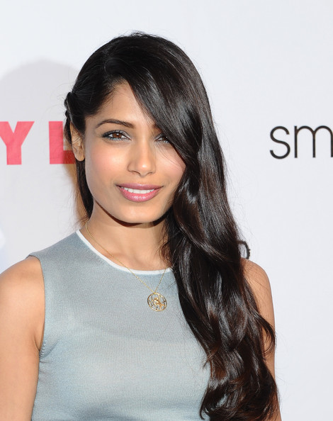 Freida Pinto Side Sweep