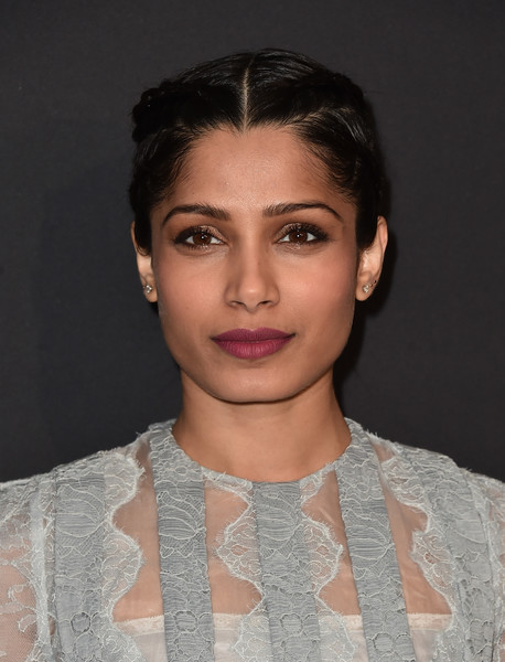 Freida Pinto French Braid