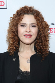 Bernadette Peters attended the Broadway opening of 'Fully Committed' wearing her signature tight curls.