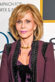 Jane Fonda celebrated her 80th birthday wearing her signature bob.