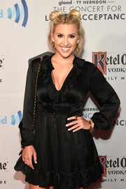 Savannah Chrisley wore a duo of Cartier gold bracelets with a little black dress at the Concert for Love & Acceptance.