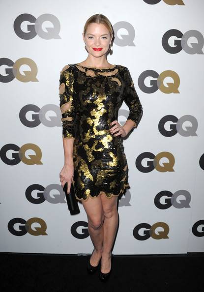 More Pics of Jaime King Red Lipstick (1 of 4) - Jaime King Lookbook - StyleBistro