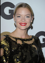 Jaime King showed off her classic red lips while hitting the Men of the Year Awards for GQ magazine.