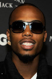 B.o.B showed off a cool pair of aviator shades at 'GQ's gentleman's ball.
