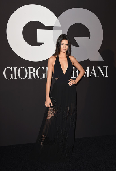 In Elie Saab At The 2015 GQ and Giorgio Armani Grammys After Party