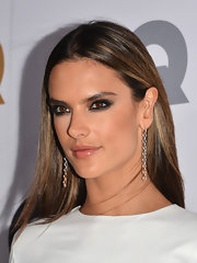 It was Alessandra's smoky eyes that really made her look ferocious at the GQ Men of the Year Party.