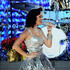 Katy Perry Lookbook: Katy Perry wearing Fascinator (5 of 51). Katy Perry wore a festive fascinator to match her silver dress at the Grammy nominations concert.