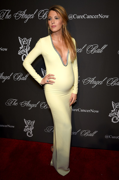 In Gucci At The 2014 Angel Ball