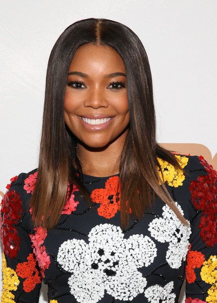 Gabrielle Union Long Straight Cut