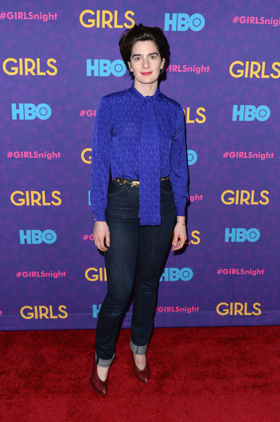 Gaby Hoffmann High-Waisted Jeans
