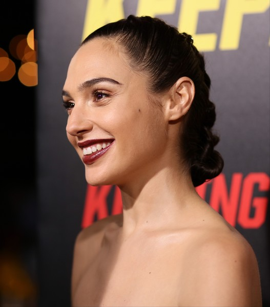 Gal Gadot French Braid