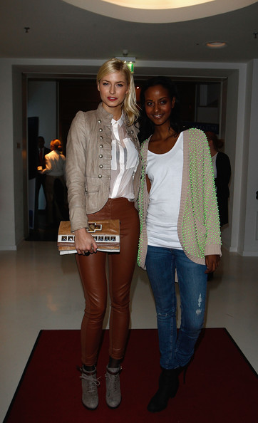More Pics of Lena Gercke Lace Up Boots (1 of 2) - Lena Gercke Lookbook - StyleBistro