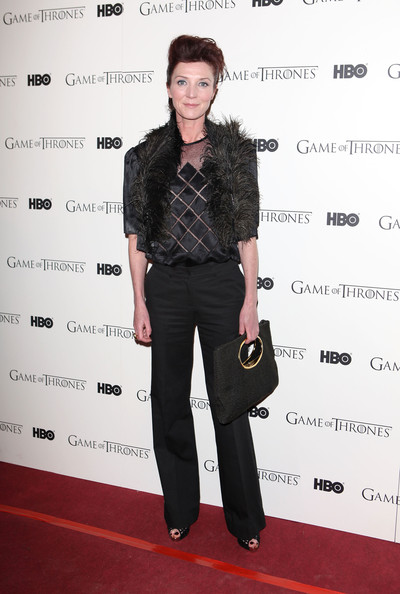 Michelle Fairley: Then 2012