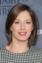Carrie Coon sported a cute bouncy bob during the 'Game of Thrones' season 4 premiere.