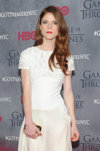 More Pics of Rose Leslie Evening Dress (1 of 4) - Evening Dress Lookbook - StyleBistro
