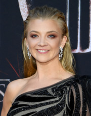 Natalie Dormer sported an edgy brushed-back 'do at the 'Game of Thrones' season 8 premiere.