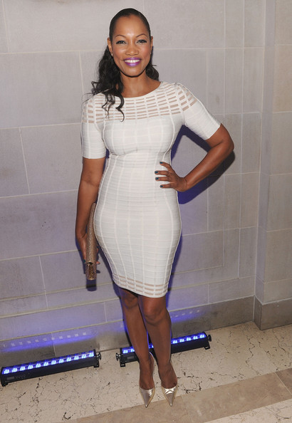 Garcelle Beauvais Bandage Dress