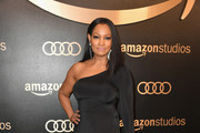 Garcelle Beauvais One Shoulder Dress