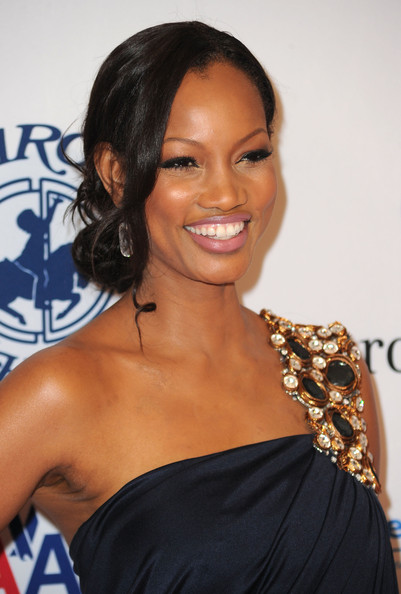 Garcelle Beauvais Loose Bun
