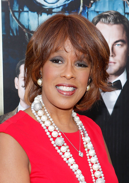 Gayle King Bob [hair,hairstyle,lip,blond,layered hair,brown hair,hair coloring,long hair,bangs,feathered hair,the great gatsby,avery fisher hall,new york city,lincoln center for the performing arts,world premiere - outside arrivals,gayle king]